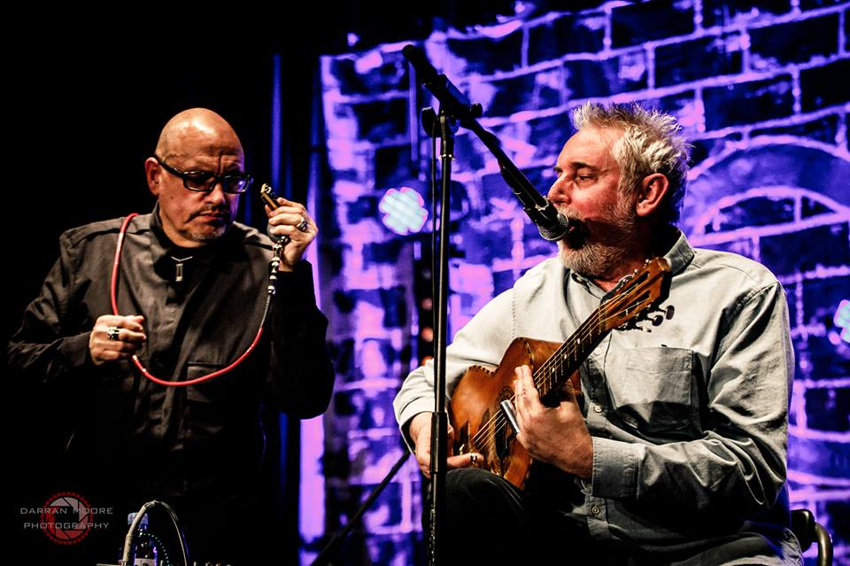 Chris James and Martin Fletcher at Sedgefield Blues Club